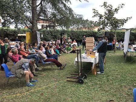Conférence apiculture écologique, octobre 2017 Écofestival de Céret Monsieur Guillaume