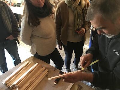 Stage apiculture écologique, 10-11 novembre 2018 David Mérino-Rigaill