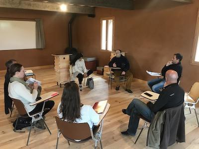 Stage apiculture écologique, 24- 25 novembre 2018 David Mérino-Rigaill