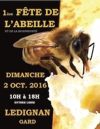 Participation à la fête de l'abeille Lédignan