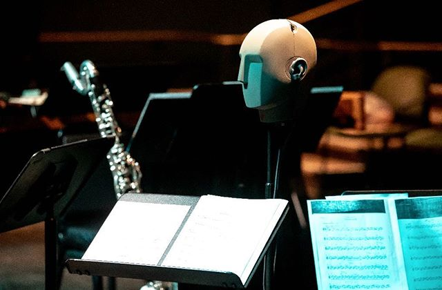 """Meet """"Michel""""! Come see @pghnewmusic FRI/SAT 8pm at @city_theatre to experience a 360-degree sound world. HEADPHONES PROVIDED. 🎧 FIRST TIME FREE!"""
