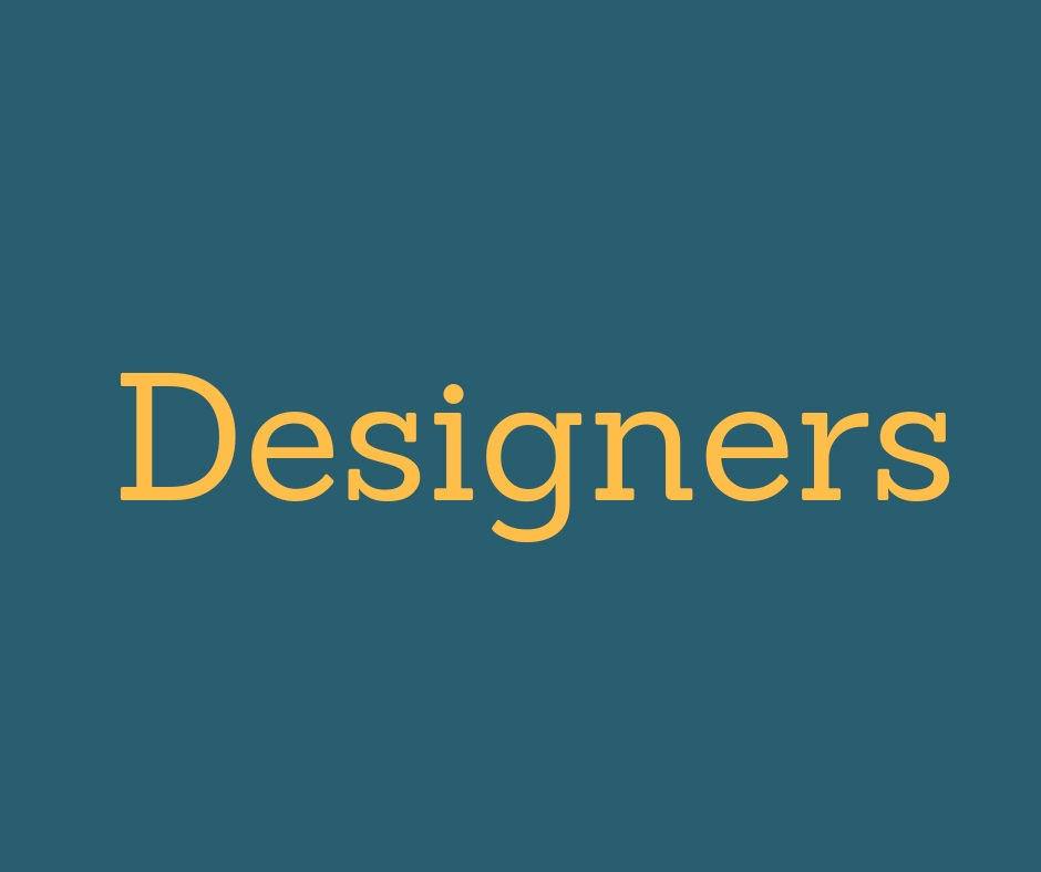 Designers and innovators of all kinds welcome here!