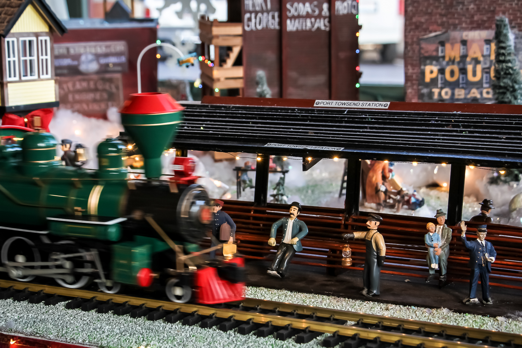 Holiday Express at the Palace Hotel in Port Townsend, WA. Photo by Bonnie Obremski