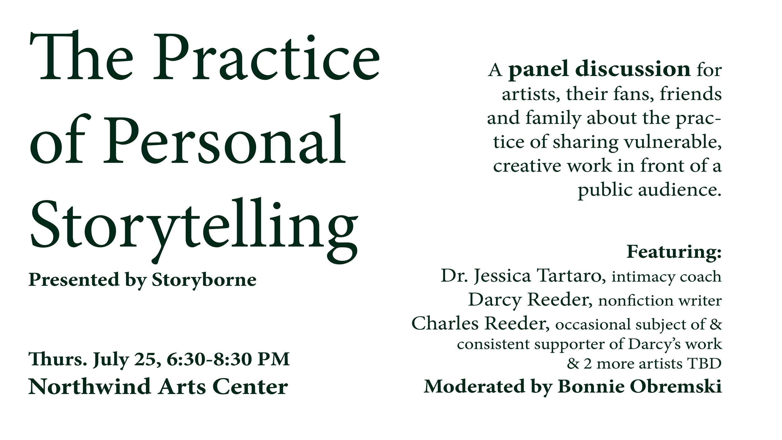 Panel-Discussion-Northwind-Arts-Center-Practice-Of-Vulnerable-Personal-Storytelling-Port-Townsend