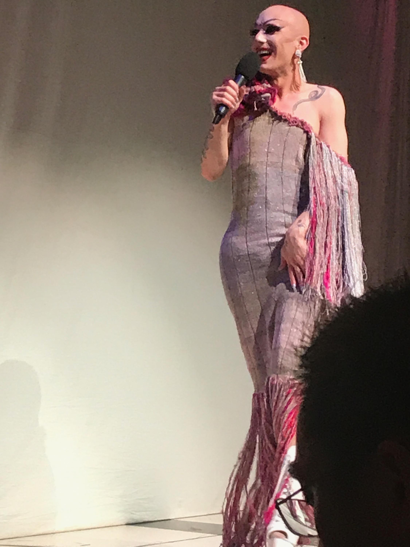 Custom gown for Sasha Velour