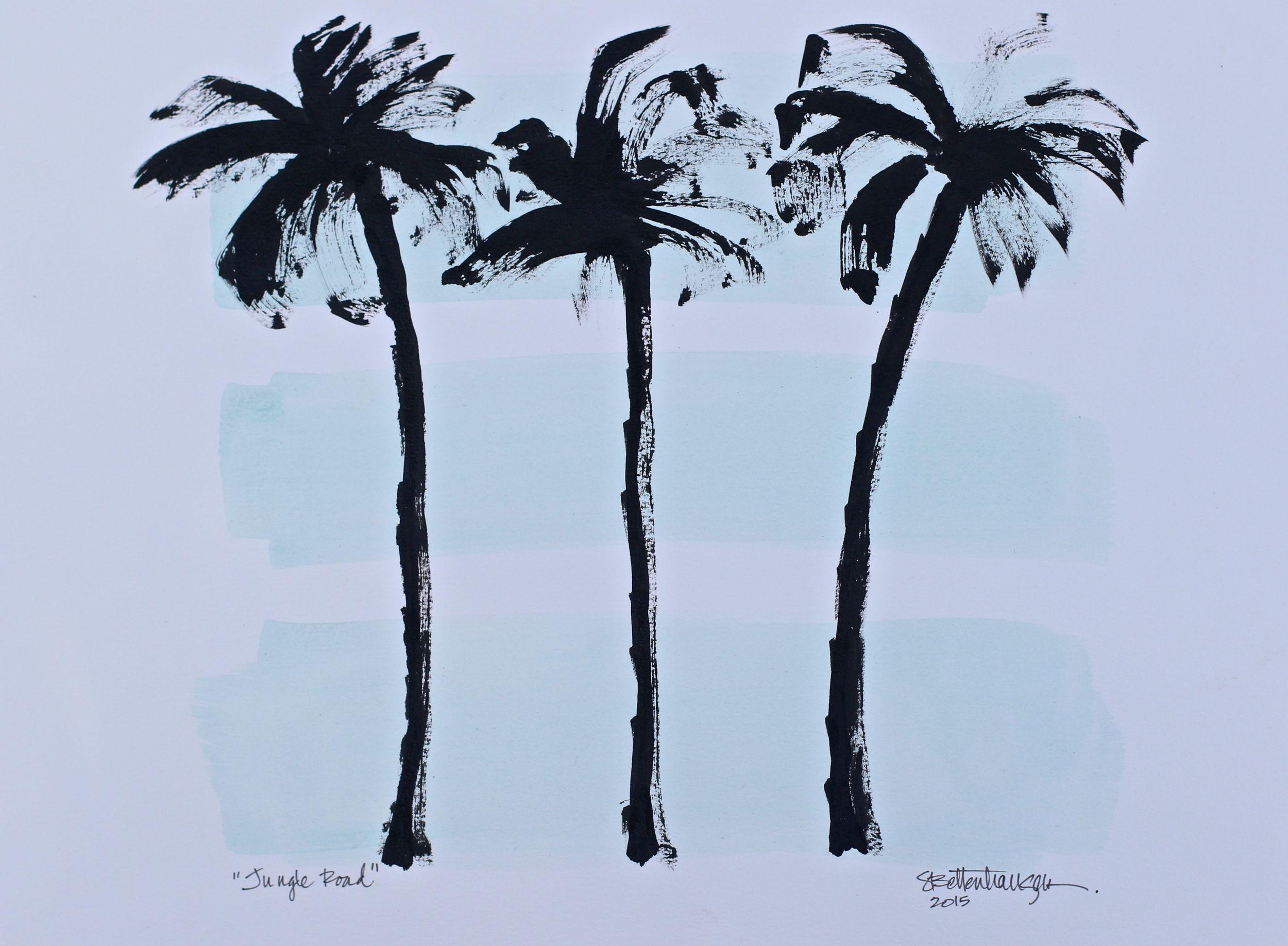 """Jungle Road"" 11x15 on paper $125"