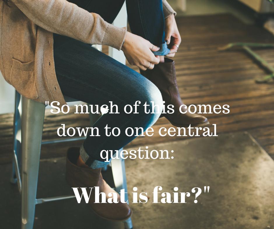 what is fair in a divorce