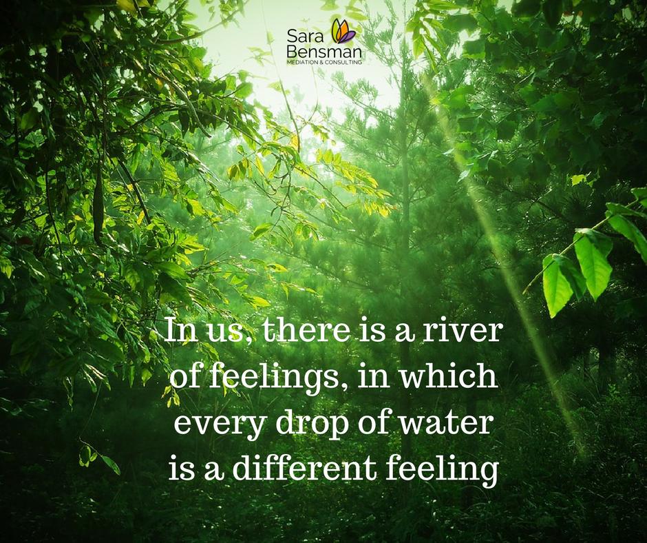 A river of feelings