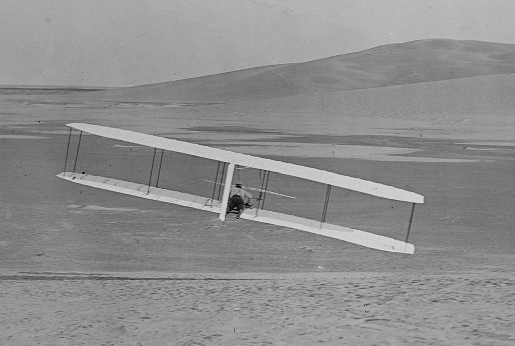 """""""If you are looking for perfect safety, you will do well to sit on a fence and watch the birds; but if you really wish to learn you must mount a machine and become acquainted with its tricks by actual trial."""" Wilbur Wright"""