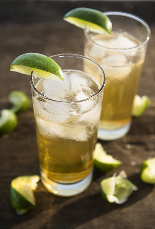 Our version of a Dark 'n' Stormy