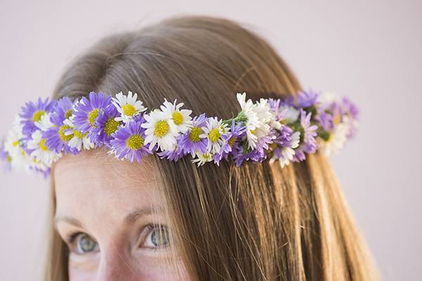 flower crown d.i.y - chasing saturdays