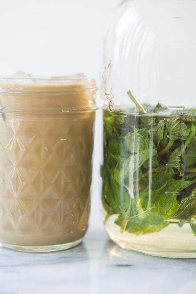 mint iced coffee - chasing saturdays