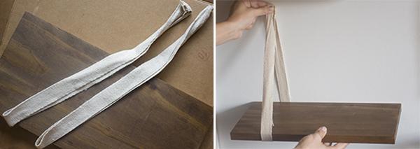 ribbon shelf bracket how-to - chasing saturdays