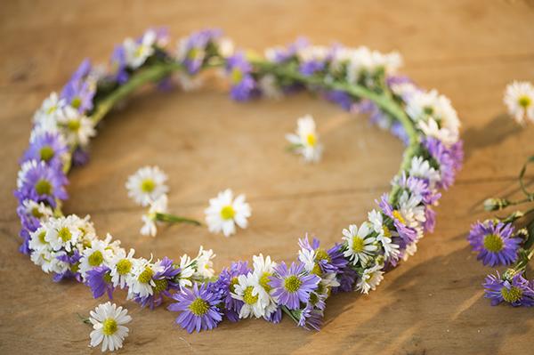 simple flower crown d.i.y - chasing saturdays