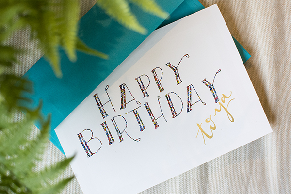 birthday card printable - chasing saturdays