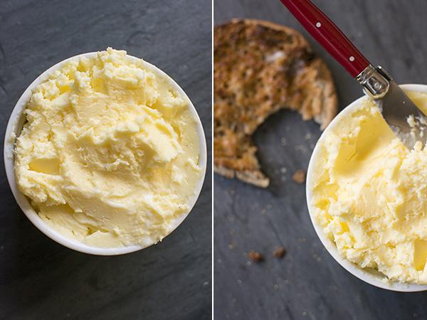 homemade butter - chasing saturdays