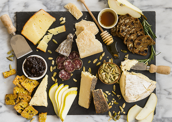 fall inspired cheese plate - chasing saturdays