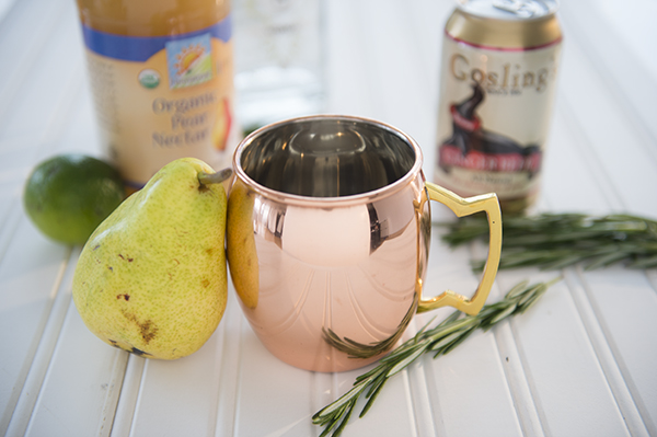 autumn pear moscow mule - chasing saturdays