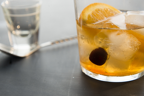 classic old-fashioned cocktail - chasing saturdays