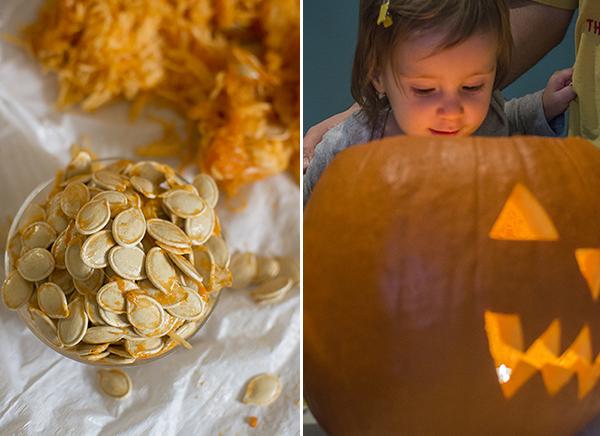 roasted pumpkin seeds - chasing saturdays