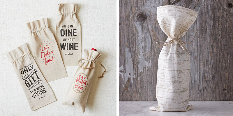 wine bags for the holidays - chasing satutrdays