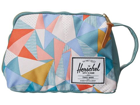 Herschel Supply Co. Quilt/Seafoam Toiletry Bag