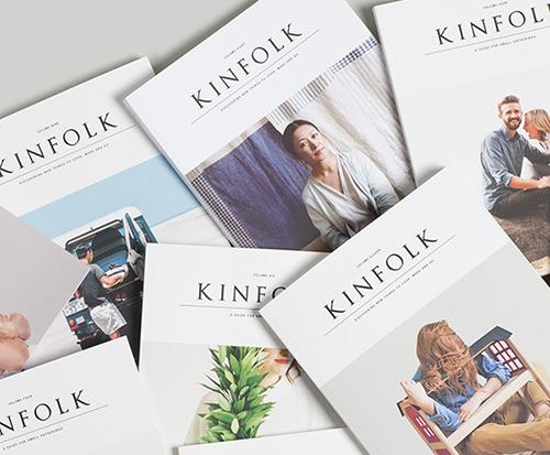 kinfolk magazine - chasing saturdays