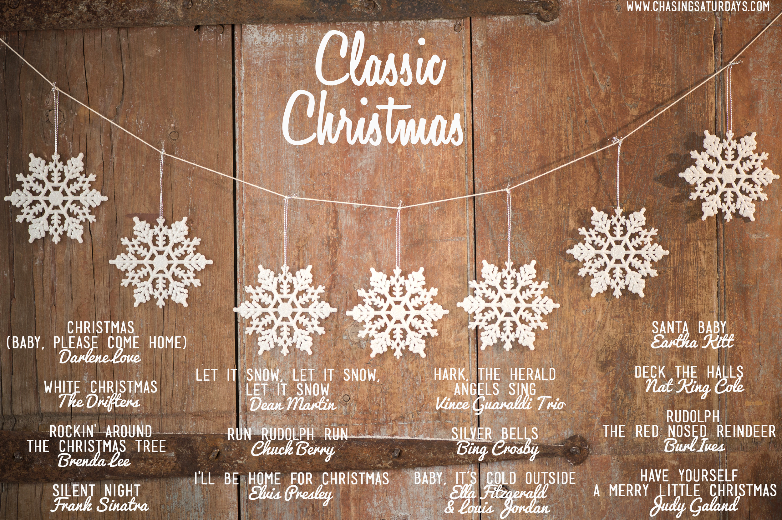 A classic Christmas playlist