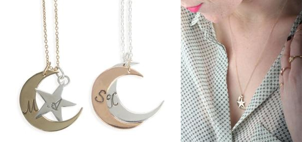 catbird you are my moon and stars necklace - chasing saturdays