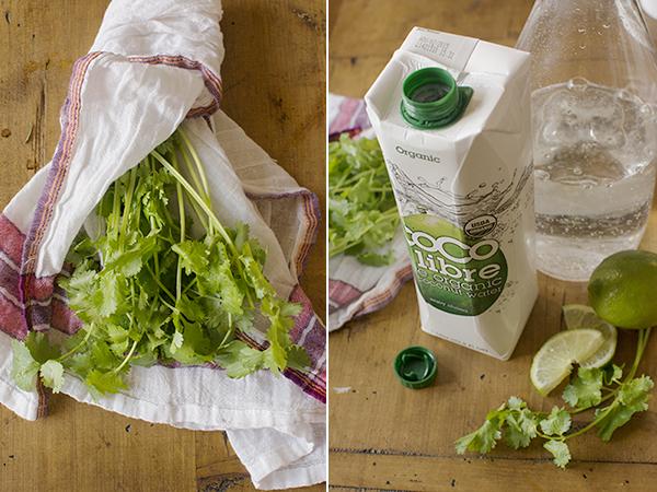 coconut cilantro cooler - chasing saturdays