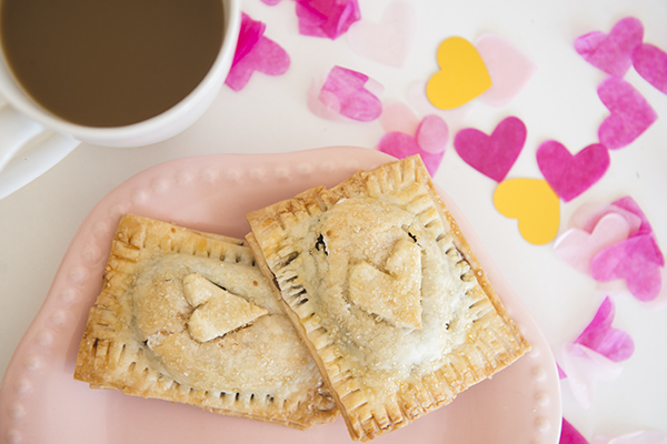 valentine's day homemade s'more poptarts - chasing saturdays