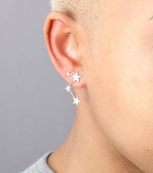 catbird's star earrings - chasing saturdays