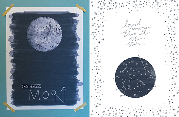 a celestial baby shower - chasing saturdays
