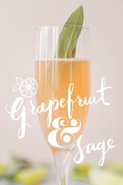 Get a printable grapefruit and sage   card  here .