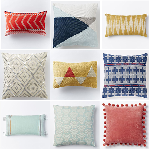 west elm throw pillows - chasing saturdays