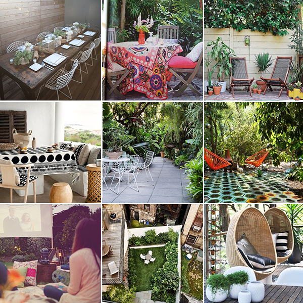 dreamy outside spaces pins - chasing saturdays