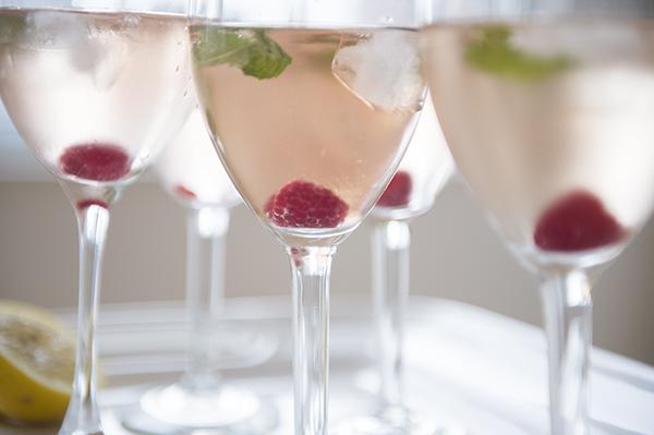 limoncello rosé sangria - chasing saturdays
