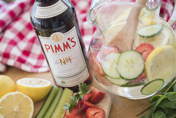 Pitcher of Pimm's - Chasing Saturdays