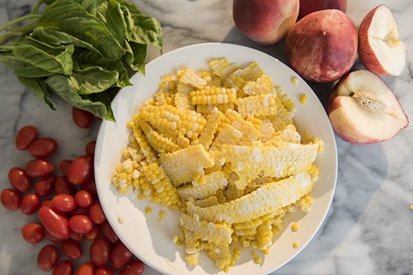 summer corn salad - chasing saturdays
