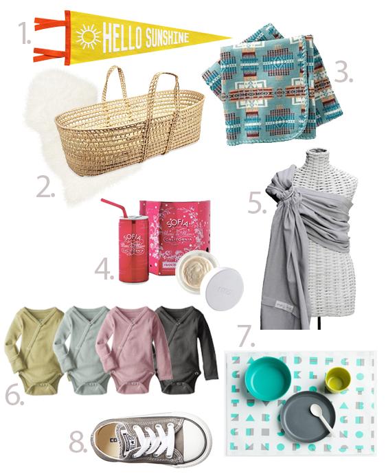 baby shower gift ideas - chasing saturdays