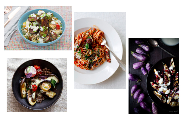four fairytale eggplant recipes - chasing saturdays