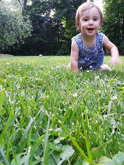 6. PLAY WITH YOUR ANGLES. Get belly-down in the grass if you need to!