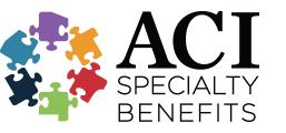 ACI Speciality Benefits