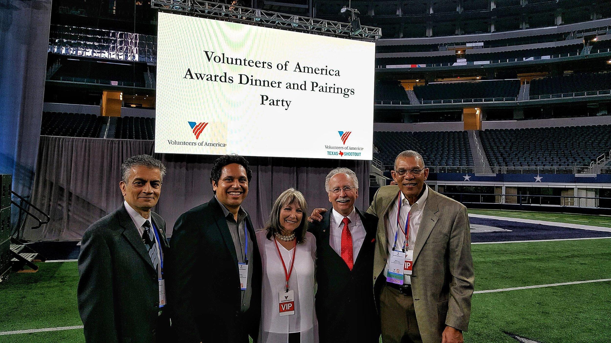 Volunteers of America Awards Dinner and LPGA Pairings Party