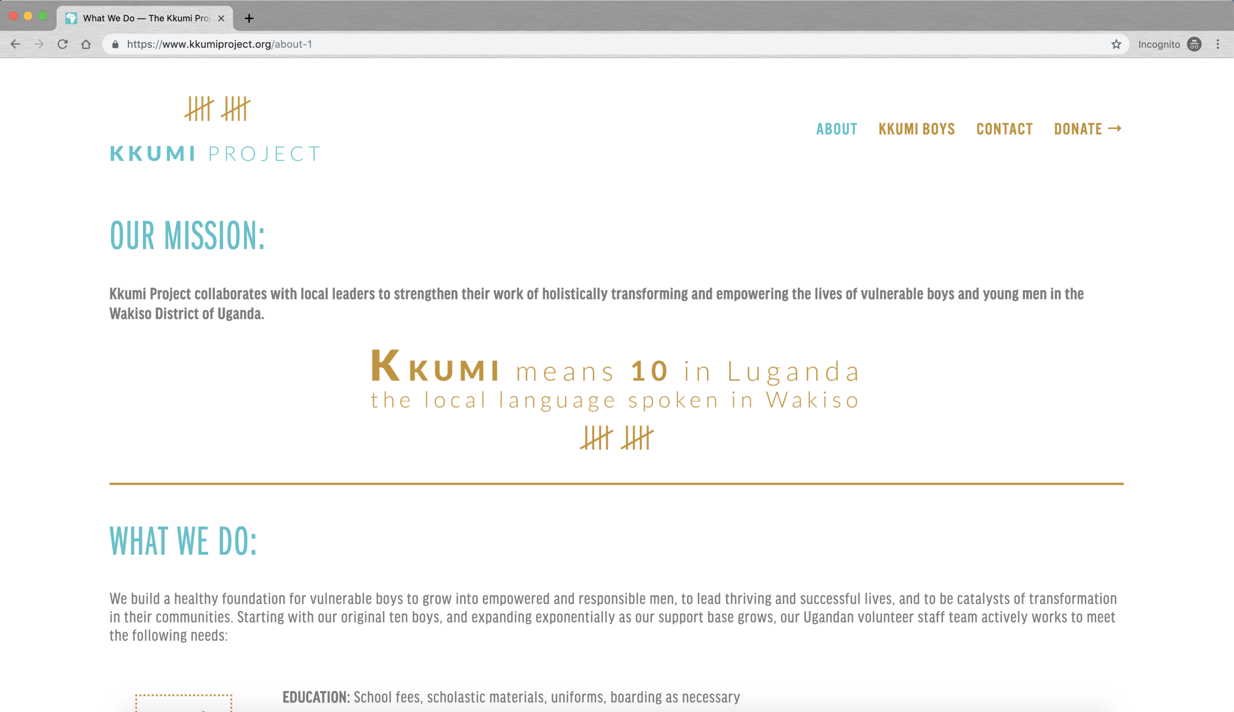 Kkumi Project Web 2