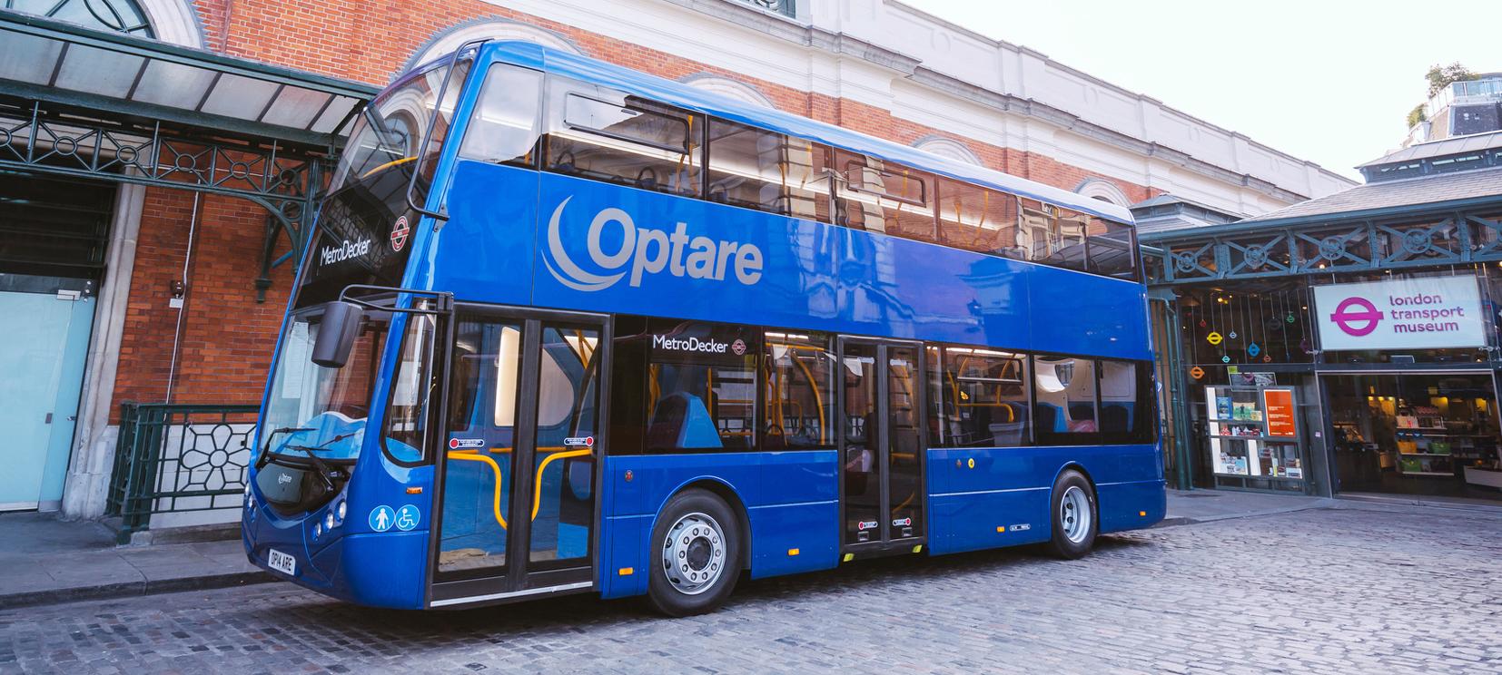 Optare stellt Brennstoffzellen-Doppeldeckerbus vor