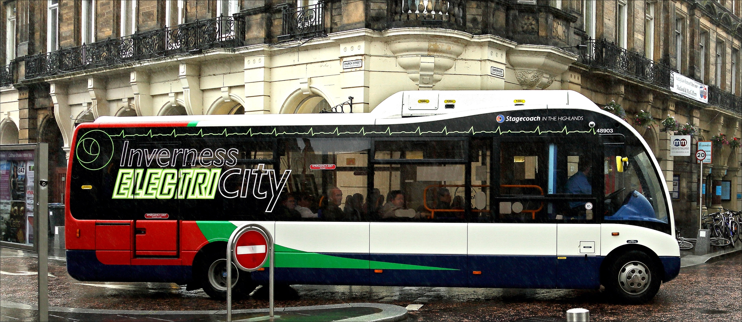 Fewer charging sessions required due to extended battery range on electric Optare Solo buses.
