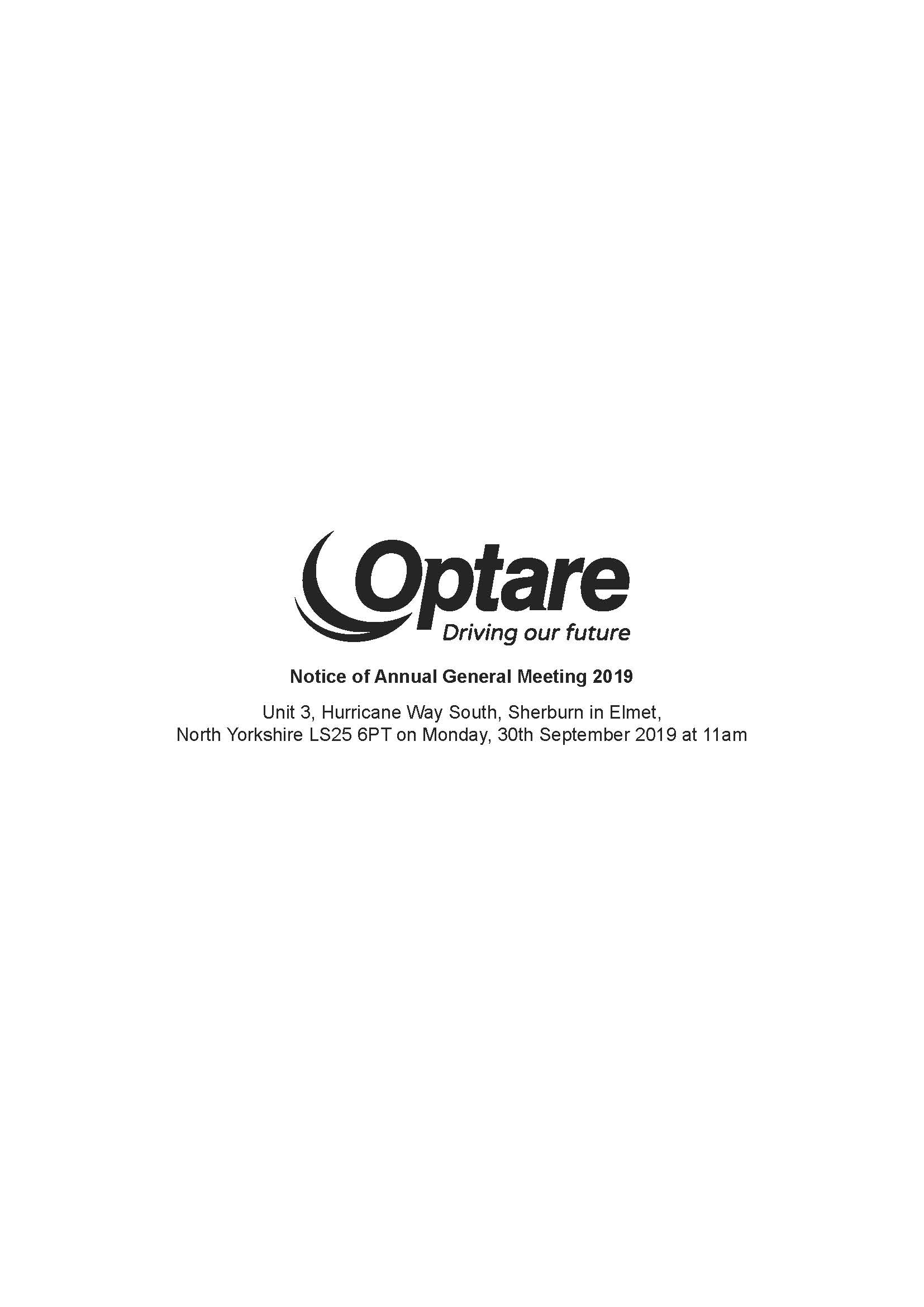 Optare plc Notice of Annual General Meeting 2019_Page_1.jpg