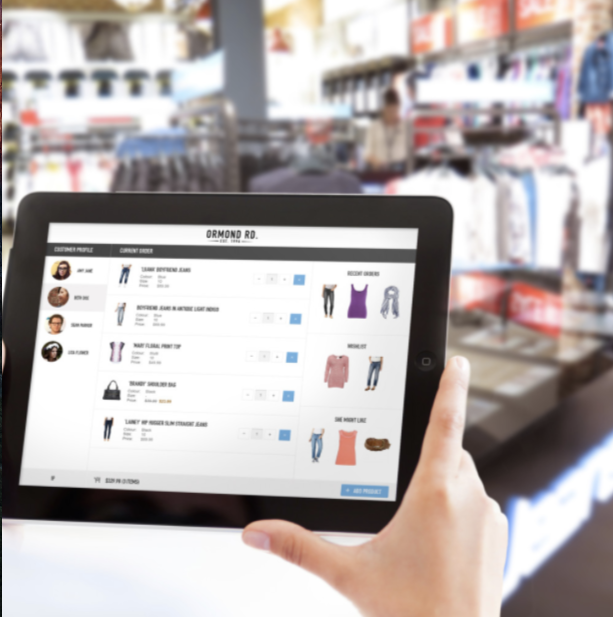Sales Associate Interface