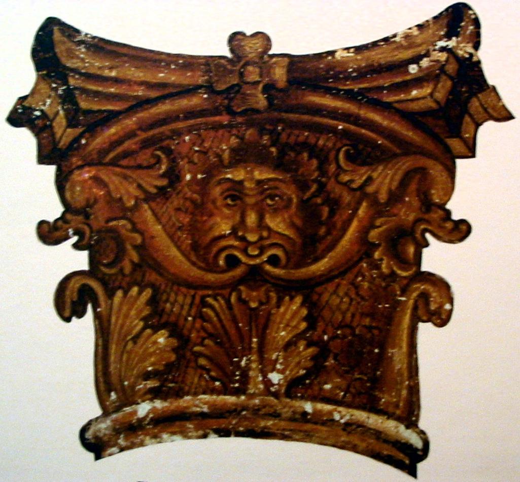 affreschi quattrocenteschi  provenienti dall'area della canonica